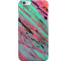 Ice crystals under the microscope iPhone Case/Skin