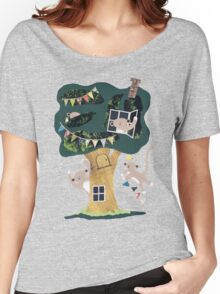 Monkey Treehouse Women's Relaxed Fit T-Shirt