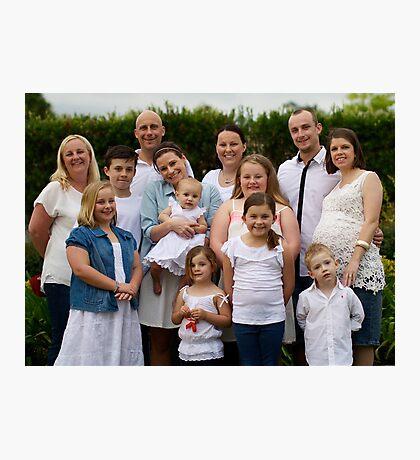Craven Family 3 Photographic Print