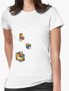 Retro games Womens Fitted T-Shirt