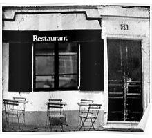 Parisian Restaurant Poster