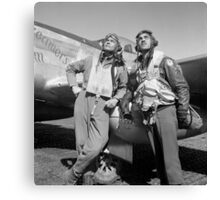 Tuskegee Airmen -- World War Two Canvas Print