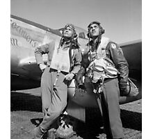 Tuskegee Airmen -- World War Two Photographic Print