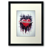 lovehelvetica Framed Print