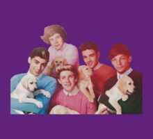 One Direction With Puppies by AlaJonea