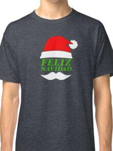 Feliz Navidad Santa Classic T-Shirt