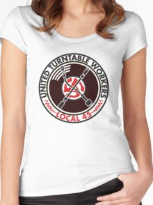 United Turntable Workers - Local 45 Women's Fitted Scoop T-Shirt