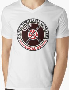 United Turntable Workers - Local 45 Mens V-Neck T-Shirt