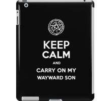 Keep Calm - Devil's Trap iPad Case/Skin