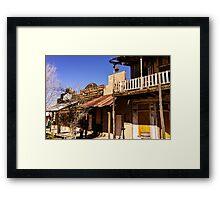 Tombstone Arizona Framed Print