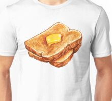 Buttered Toast Pattern Unisex T-Shirt