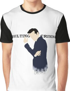 Consulting Criminal Graphic T-Shirt