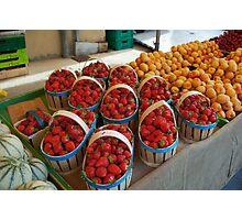 Summer Market, L'Isle-sur-la-Sorgue  Photographic Print