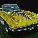 Yellow Chevrolet Corvette Stingray by Samuel Sheats