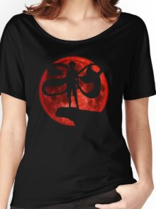 Red Moonlight Kaneki Ken Women's Relaxed Fit T-Shirt