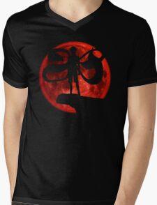 Red Moonlight Kaneki Ken Mens V-Neck T-Shirt