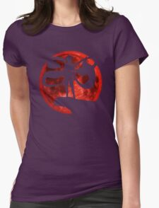 Red Moonlight Kaneki Ken Womens Fitted T-Shirt