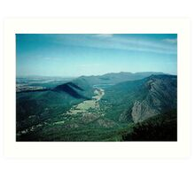 Hall's Gap Township -  Grampians Mountain Range,Vic. Australia* Art Print