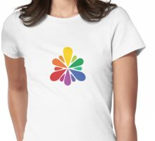 Color Spray Womens Fitted T-Shirt