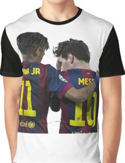 messi and neymar Graphic T-Shirt