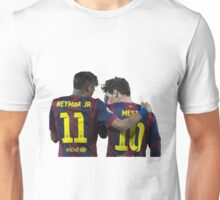 messi and neymar Unisex T-Shirt