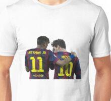 messi and neymar Unisex T-Shirt
