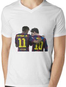 messi and neymar Mens V-Neck T-Shirt