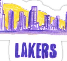 LAKERS hand-drawing Sticker
