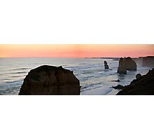 Twelve Apostles - Great Ocean Road VIC (panorama) Photographic Print