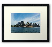 Opera House - Sydney Harbour Framed Print