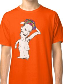 withered body with coilourful headdress Classic T-Shirt