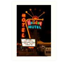 Vegas Motel Art Print