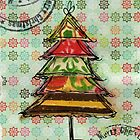 merry christmas by Giovanna Scott