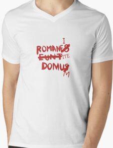 Romanes Eunt Domus Mens V-Neck T-Shirt