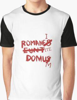 Romanes Eunt Domus Graphic T-Shirt