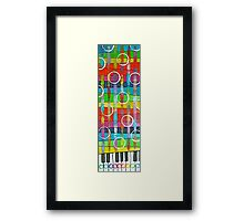 Bubbly Music Framed Print