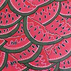 I luv Watermelon by Kim  Magee