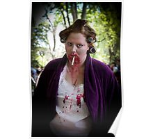 House wife zombie Poster
