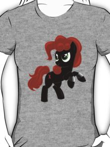 Black Widow Pony T-Shirt