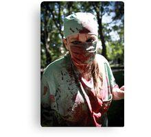 Dr. Zombie Canvas Print