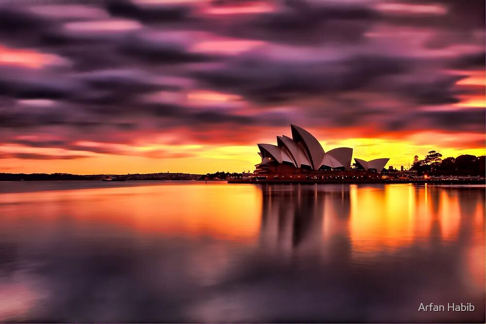 Opera House Sunrise by Arfan Habib