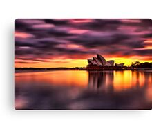 Opera House Sunrise Canvas Print