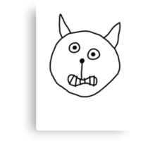 Alric (the Wonder Cat) Canvas Print