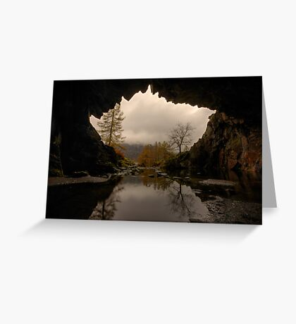 Rydal Cave Greeting Card