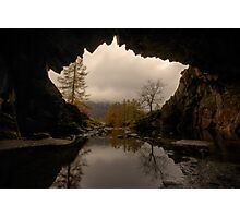 Rydal Cave Photographic Print