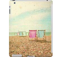 Deckchairs iPad Case/Skin