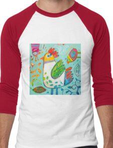 Sweet garden Men's Baseball ¾ T-Shirt