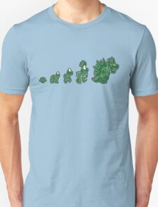Ascent of Koopa (Green) Unisex T-Shirt