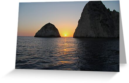 Sunset in Zante by StratisV