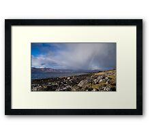 Looking across Loch Linnhe Framed Print